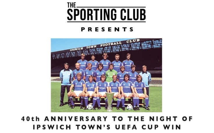 Ipswich Town UEFA Cup Anniversary Dinner