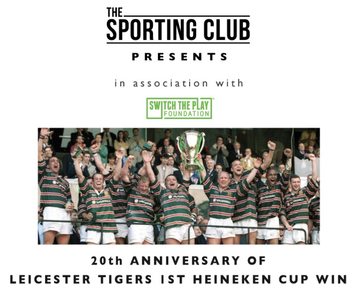 Leicester Tigers anniversary dinner