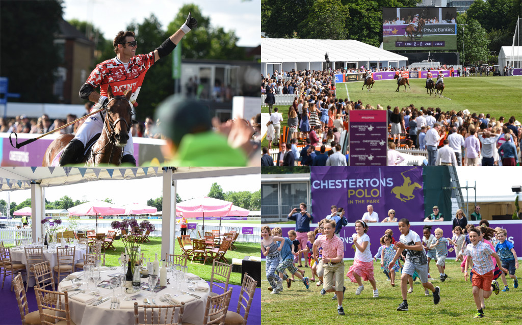 The Sporting Club Day at Chestertons Polo in the Park
